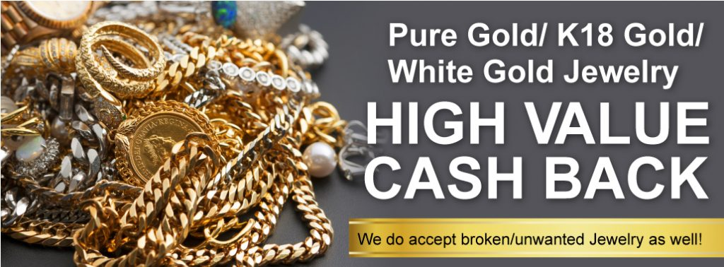 Higher Price for Gold, White Gold and K Gold